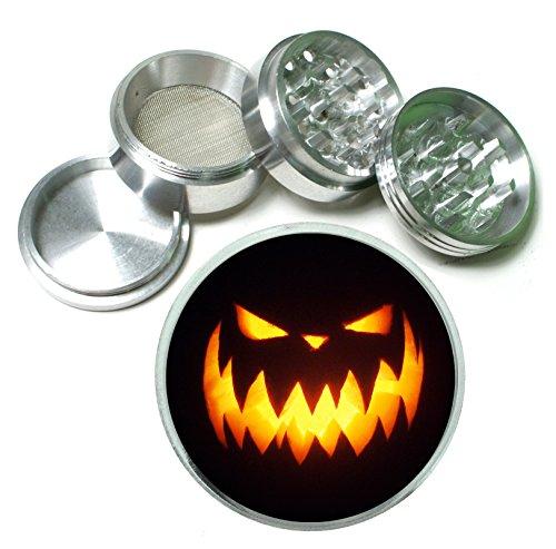 Jack O Lantern Halloween Scary Pumpkin 4 Pc.