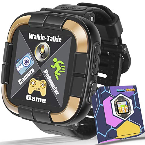 Kids Smartwatch for Boys Girls Toddlers, Kids Game Smart Watch with Camera Touch Screen Pedometer, Kids Wrist Bracelet…