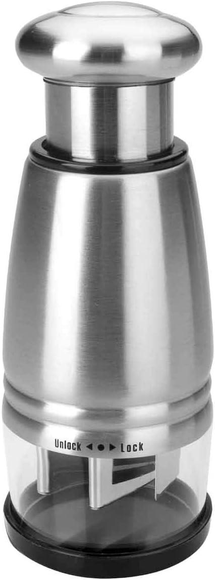 Lacor - 61403 - Mini Picador Ajos / Cebolla Inox: Amazon.es