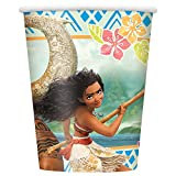 Unique 59816 9 oz Disney Moana Party Cups, 8 Count