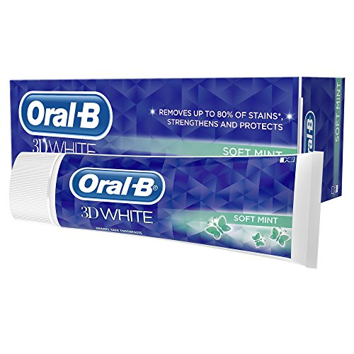 Oral B Toothpaste 3D White Luxe Healthy Shine - 75ml, Pack of 8