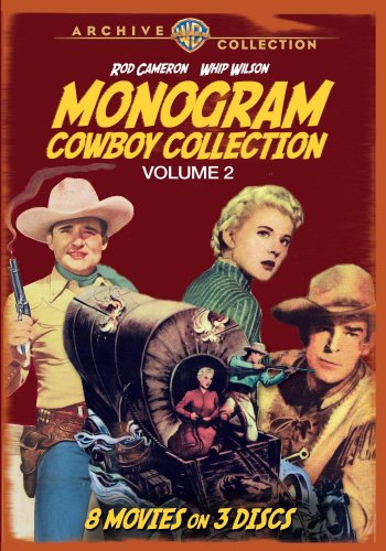 Monogram Cowboy Collection Volume 2 (3 (Two Monogram)