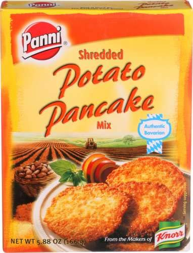 Panni Shredded Potato Pancakes, 5.8-Ounce Boxes ( Pack of 5)