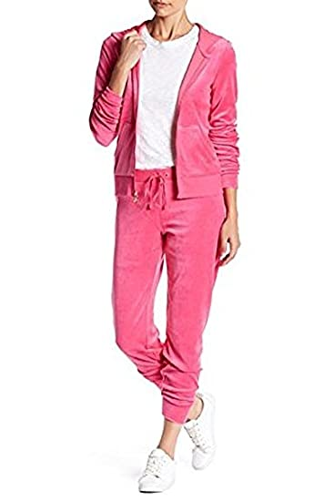 e59d03b5e7df2 Image Unavailable. Image not available for. Color: Juicy Couture Zuma Velour  Banded Pant L