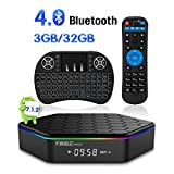 TRUEWELL T95Z Plus TV Box Android 7.1 Amlogic S912 3GB/32GB Octa Core 4K Video Player Dual WiFi 2.4/5GHz Bluetooth 4.0 with Mini Wireless Keyboard