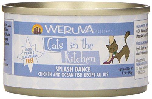 Weruva Cats in the Kitchen Splash Dance Pet Food , 3.2 oz