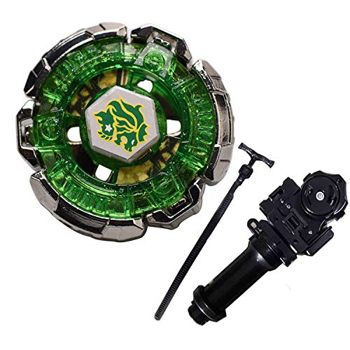 Best Battling Tops Metal Fusion 4D System Set L-Drago BB106 Fang Leone 130WD with Metal Fusion Fight Power Ruler Launcher+Grip Set Toys Gift Toys for Children