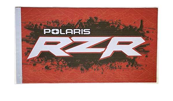 """CANAM CAN AM MAVERICK X3 POLARIS RZR YAMAHA YXZ1000 12/"""" X 19/"""" FLAG"""