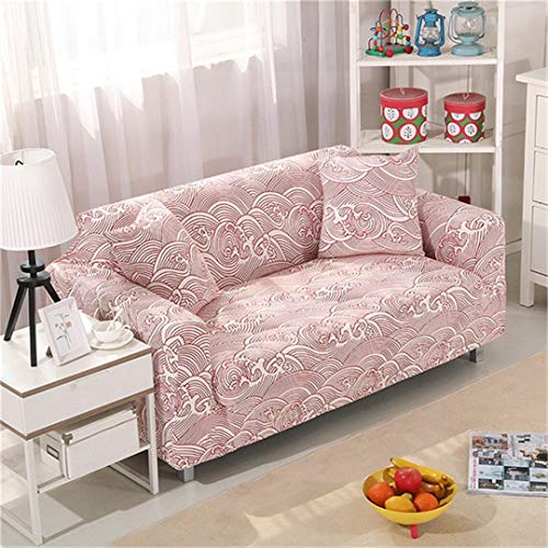 (Ranferuyk Stretch Sofa Cover Sofa Slipcovers Sectional Couch Cover Sofa Set Sofa Covers for Living Room 1/2/3/4 Seater Color 1 Four Seat Sofa)