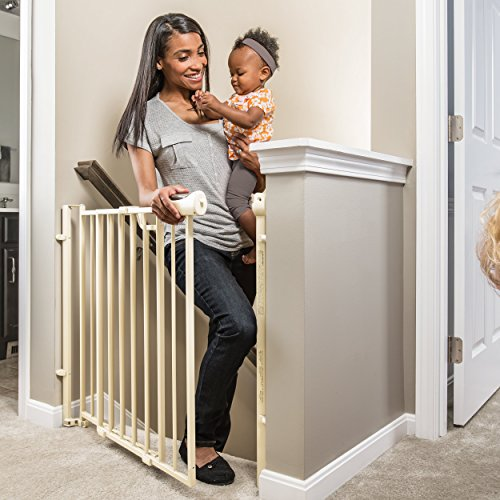 Evenflo Easy Walk Thru Top Of Stairs Gate by Evenflo (Image #3)