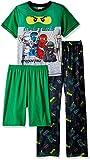 LEGO Boys Team Ninjago 3-Pc Pajama Sleep Set
