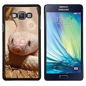 YiPhone /// Prima de resorte delgada de la cubierta del caso de Shell Armor - Serpiente Reptil Blanco Rosa del Desierto Naturaleza - Samsung Galaxy A7 A7000