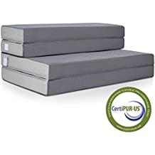 """Best Choice Products 4"""" Folding Portable Mattress Queen"""