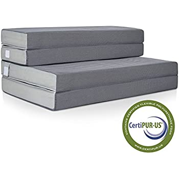 """Best Choice Products 4"""" Folding Portable Mattress Full"""