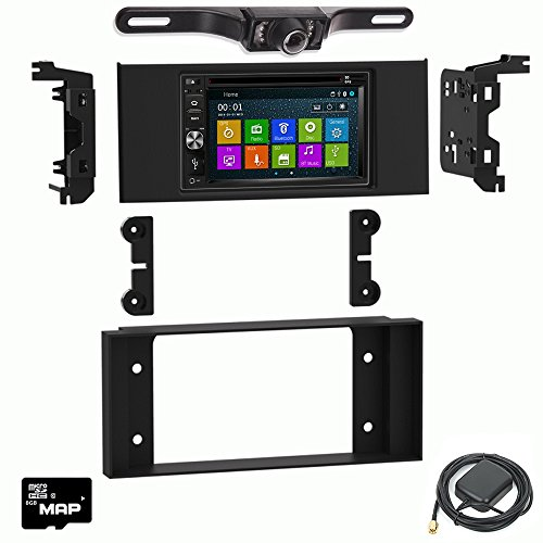 DVD GPS Navigation Multimedia Radio and Dash Kit for Land Rover Range Rover 2003-2012 with Backup Camera ()