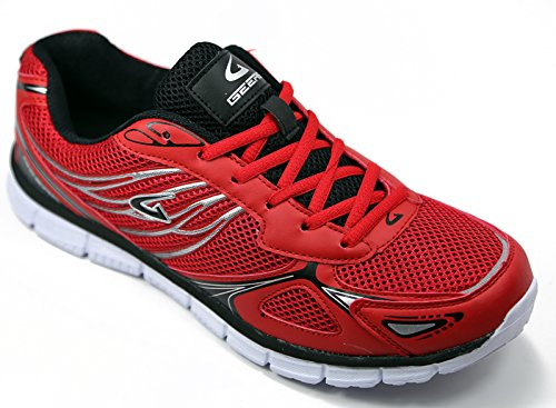 Running Mens Sneakers Shoes Training Red Comfort Athletic xxAw8Z4q