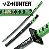Zombie Hunter Blood Splatter Samurai Sword ZB026