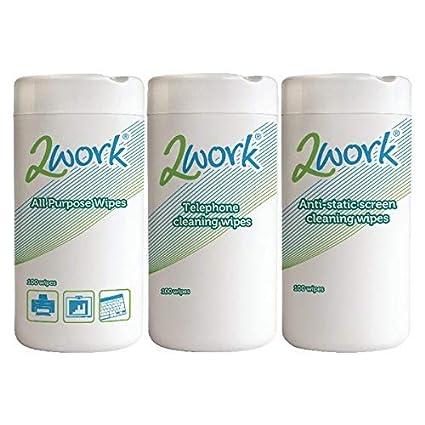 2WORK XL-Wattest/äbchen 100er-Pack Wattest/äbchen 100/St/ück
