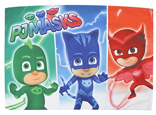 Pj Masks Catboy Owlete Gekko 4 Pc Toddler Bed Set Blue