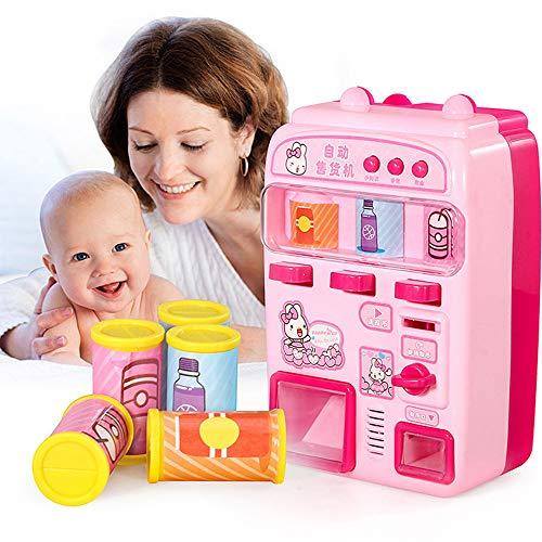 LtrottedJ for Children Supermarket Vending Machines Children Pretend -