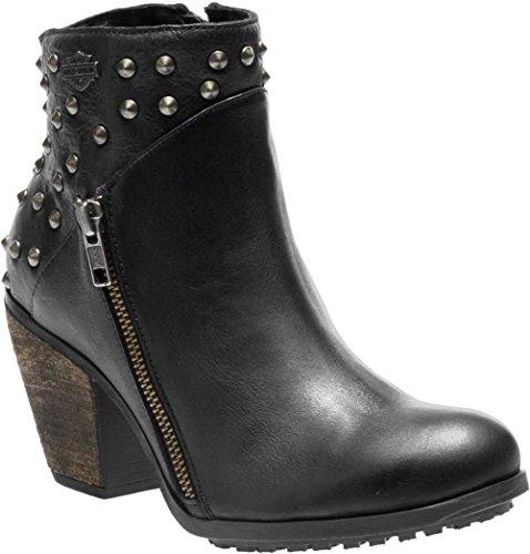 Harley-Davidson Women's Wexford Fashion Boot, Black, 6.5 M US