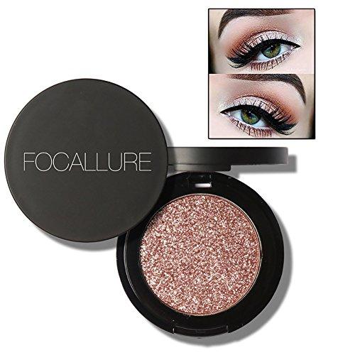 Shouhengda Glitter Metallic Eyeshadow Palette Makeup Shimmer