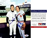 Al Kaline and Brooks Robinson Signed - Autographed Detroit Tigers - Baltimore Orioles 8x10 inch Photo - Certificate of Authenticity (COA) - PSA/DNA Certified