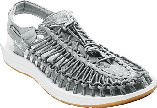 KEEN Damen Uneek 8mm Rock Sandale Neutral Grau / Weiß