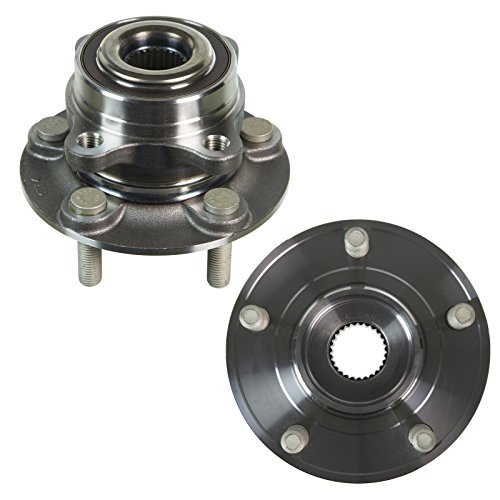 Detroit Axle Pair (2) Front or Rear Wheel Hub and Bearing Assembly - Driver and Passenger Side - AWD Models - [2013-2017 Ford Fusion Rear AWD] - 2015-2017 Lincoln MKZ Rear AWD