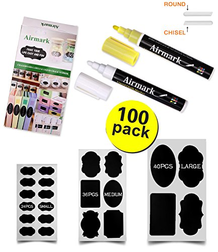 Airmark Reusable Chalkboard Labels Erasable product image