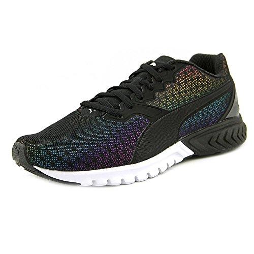 PUMA Women's Ignite Dual Prism Wn's Running Shoe, Puma Black, 9.5 M US