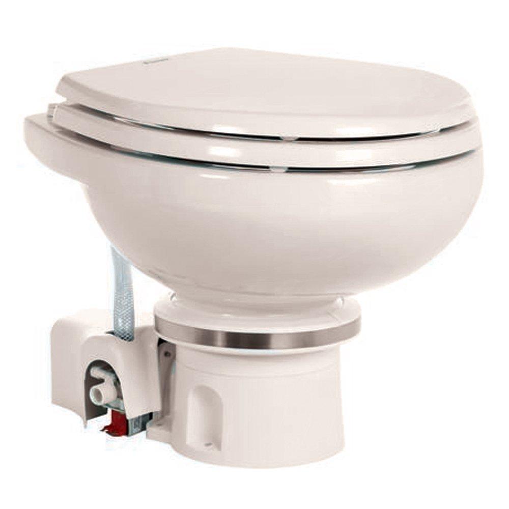 Dometic MasterFlush 7120 Electric Macerating Toilet Bone 12V (304712010) (59154)