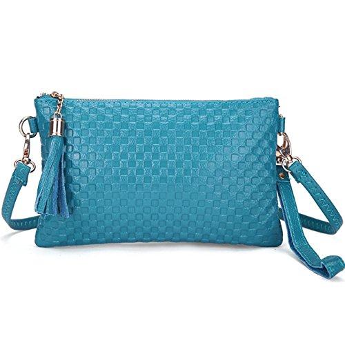 Bag Messenger Crossbody brown Bags JAGENIE Fashion Women Purse Brown Case Lady Light Light Shoulder Handbag fBn5wq5FH