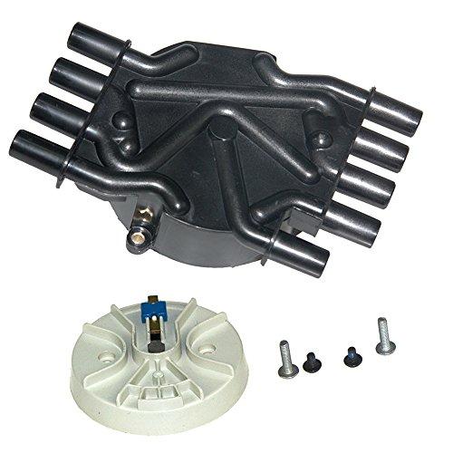 Bravex Distributor Cap and Rotor Kit for Chevrolet & GMC Trucks Vortec V8 5.0L 5.7L Brass (Brass Rotor)