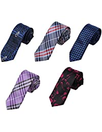 Image result for DANF.02 Series Polyester Slim Ties For Husband-5 Styles Available By Dan Smith
