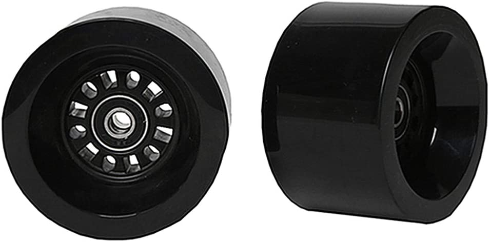 FREEDARE Longboard Wheels with ABEC 7 Bearings and Spacers (Set of 4