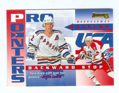 Image Unavailable. Image not available for. Color  Brian Leetch hockey card  (New York Rangers Stanley Cup ... 63bd7db97