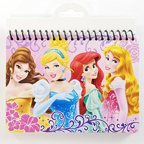 Set of 2 - Disney Princess Character Autograph Book Set - Great for Disney World and Disneyland Vacations!