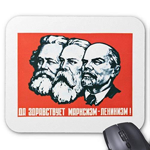 Price comparison product image Lenin Marx Engels Vintage Communist Propaganda Mouse Pad