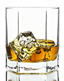 Skyline Double Old Fashioned Whiskey Glasses 6-Piece Set, 9.25 Ounce