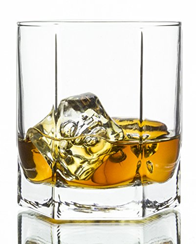 Skyline Double Old Fashioned Whiskey Glasses 6-Piece Set, 9.25 (Dof Tumbler)