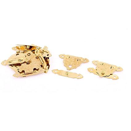 Diam/ètre 3/mm Lot de 10/fermetures Sourcingmap/® /à bras pivotant gauche pour bo/îtes en bois