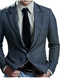 Men's 2'' Vintage Casual Formal Skinny Knit Tie Knitting Necktie