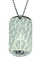 Brand New Harry Potter Deathly Hallows Cut Out Metal Dog Tag Necklace Unisex