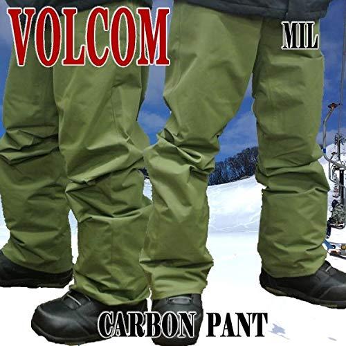 CARBON PANTS MILITARY メンズ 男性用 スノボ用パンツ エルゴフィット スノボウェア スノーウェア 耐水 防寒 機能性 [並行輸入品] B07J5L6SXJ   Small