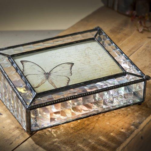 J Devlin Pbox 103 Decorative Photo Box in Clear Textured ...