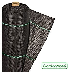 Gardenmate 1m x 50m rouleau b che anti mauvaises herbes - Anti herbe ecologique ...