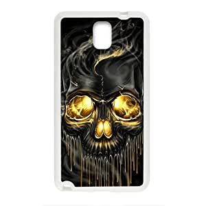 Shiny melting skull Cell Phone Case for Samsung Galaxy Note3 by Maris's Diary