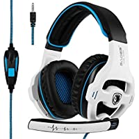 Sades SA810 Over-Ear 3.5mm Wired Gaming Headphones