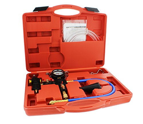 (ABN Cooling System Vacuum Purge and Refill Kit with Carrying Case – Car, SUV, Van, Light Truck Radiator)